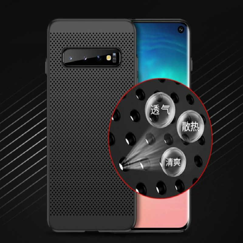 Slim etui na telefon rozpraszające ciepło do Samsung Galaxy M30 A70 A50 A40 A30 M20 A8S A6S S10Plus uwaga 9 8 A750 J4 J6 Plus J8 J3 J7 2018