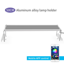 50-70CM Marine Aquarium LED Lighting RGB LED Aquarium Lights Lamps 60CM Fish Tank Lights For Aquarium LED Lamp Dimmer Controller силденафил 100 мг 1 табл