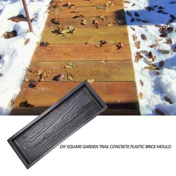 2 Pçs Moldes De Madeira Imitação Jardim Pavimento Molde Diy Piso Concreto Pavimentação Molde Estrada Moldes De Concreto Pathmate