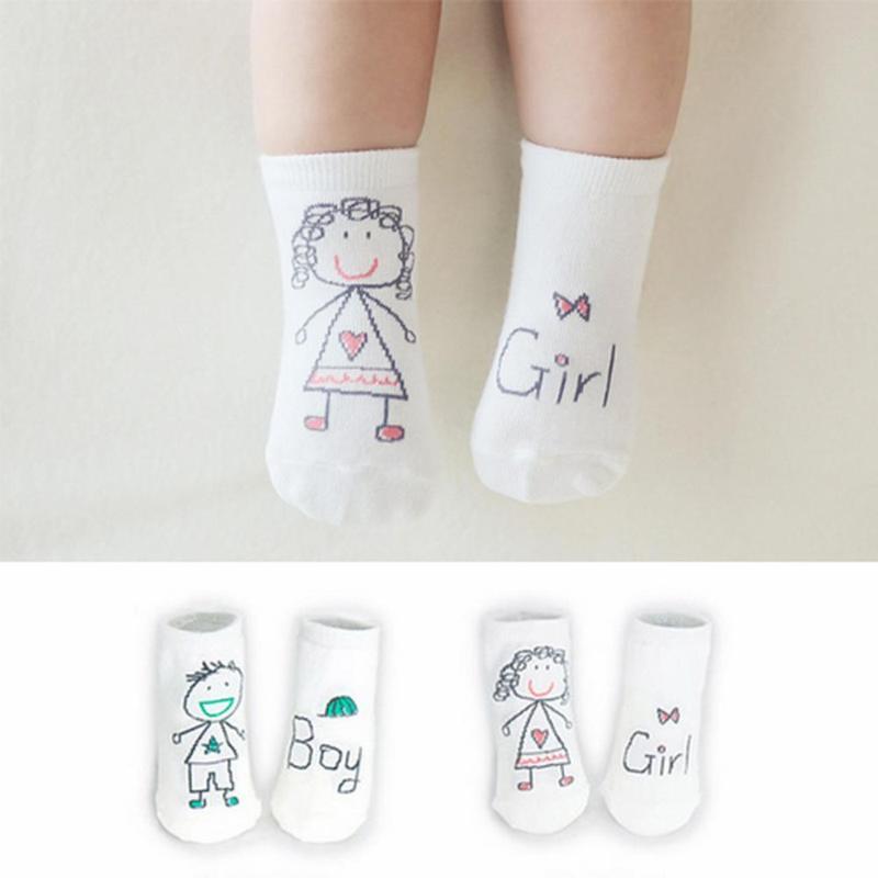 PräZise Neue Ankunft Nette Neugeborene Baby Jungen Mädchen Socken Cartoon 100% Baumwolle Baby Socken Keine-slip Infant Baumwolle Socken Clear-Cut-Textur Babykleidung Mädchen Socken