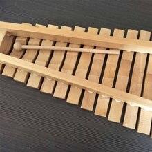 Музыкальный ксилофон пианино Деревянный инструмент для детей Детские Музыкальные Развивающие игрушки рождественские подарки