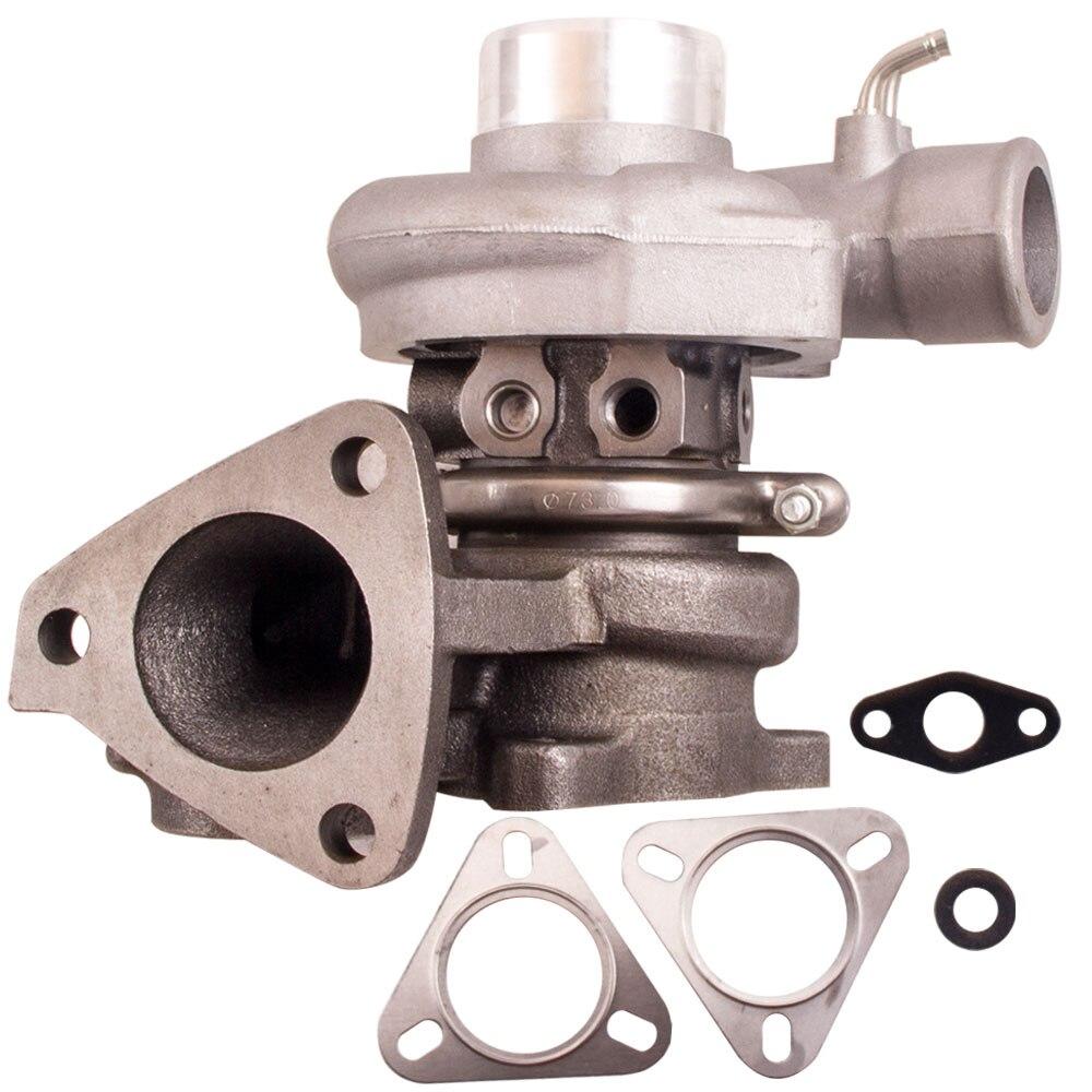 Pour Mitsubishi TD04 4D56T L200 Triton 2.5L Turbo eau + huile turbocompresseur froid 3 boulon TD04 TF035 Turbo