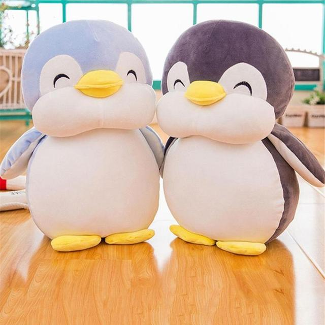 Plush Toys Cute Penguin Animal Doll Yellow Duck Doll Toys Cushion Stuffed Cotton Animal Pillow Children Day Gifts Birthday Gifts