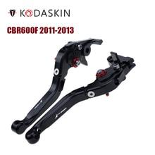KODASKIN Folding Extendable Brake Clutch Levers for Honda CBR600F 2011-2013