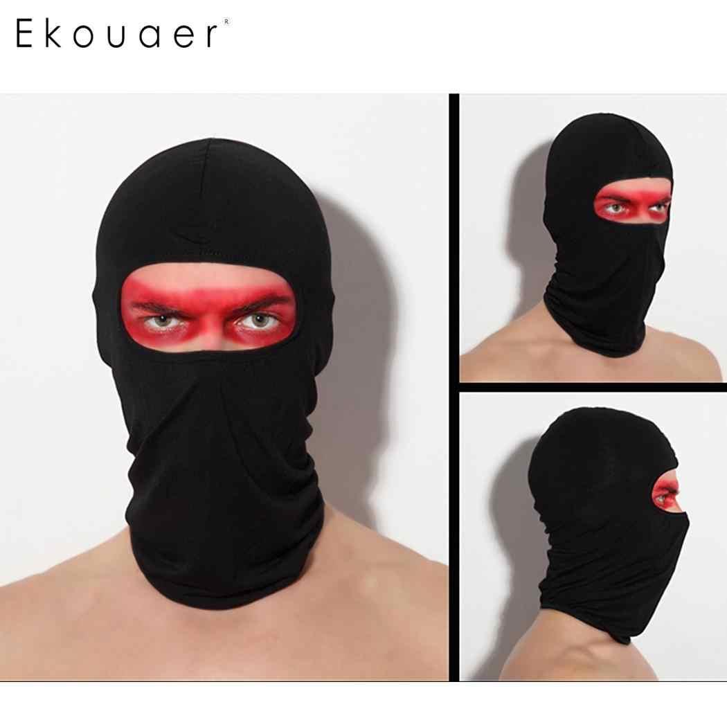 Женский черный новый шарф Спортивный Тюрбан для лица мотоциклетный шлем велосипед для мужчин унисекс шеи сплошной открытый