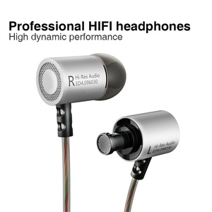 Image 5 - KZ ED4 Metal Stereo Earphone Copper Forging Noise Isolating Hifi In ear Music Earbuds with Microphone for Mobile Phone MP3 MP4