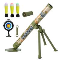 Boy Shooting Toys Simulation Cool Model Children Toy Children's Outdoor Fun Interactive Toy Cannon Electric Launch Mortar