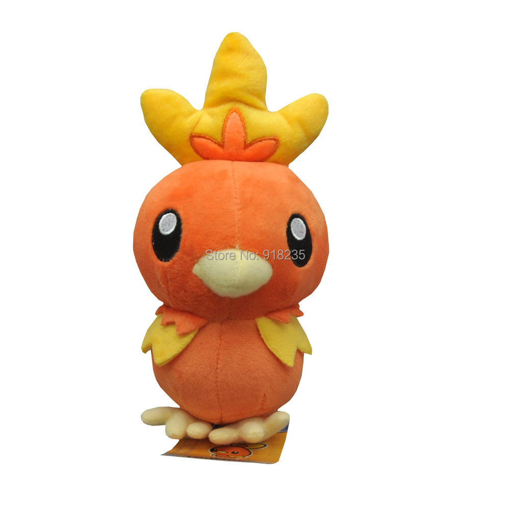 10 Lot Plush Doll Torchic 18CM For Kids Soft Cartoon Dolls Stuffed Toys