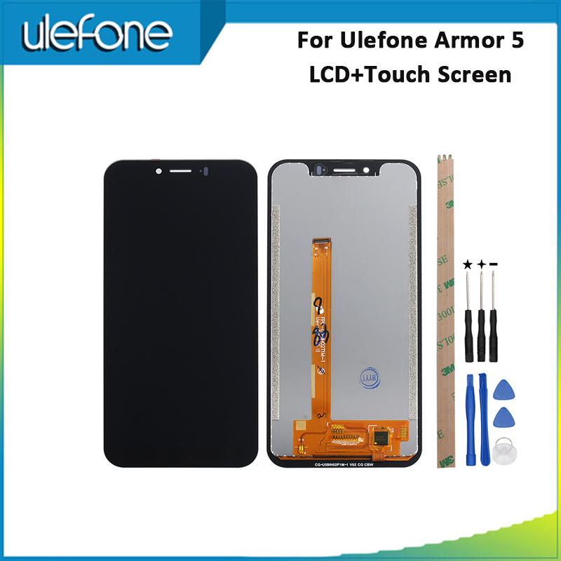 For Ulefone Armor 5 LCD Display And Touch Screen 100% Tested Repair For Ulefone Armor 5 LCD  Digital Accessory +Tools 5.85For Ulefone Armor 5 LCD Display And Touch Screen 100% Tested Repair For Ulefone Armor 5 LCD  Digital Accessory +Tools 5.85