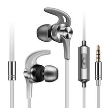 FULL J02 In Ear Headset With Micro Type 3.5Mm Stereo Heavy Bass Music Noise Canceling Earphones