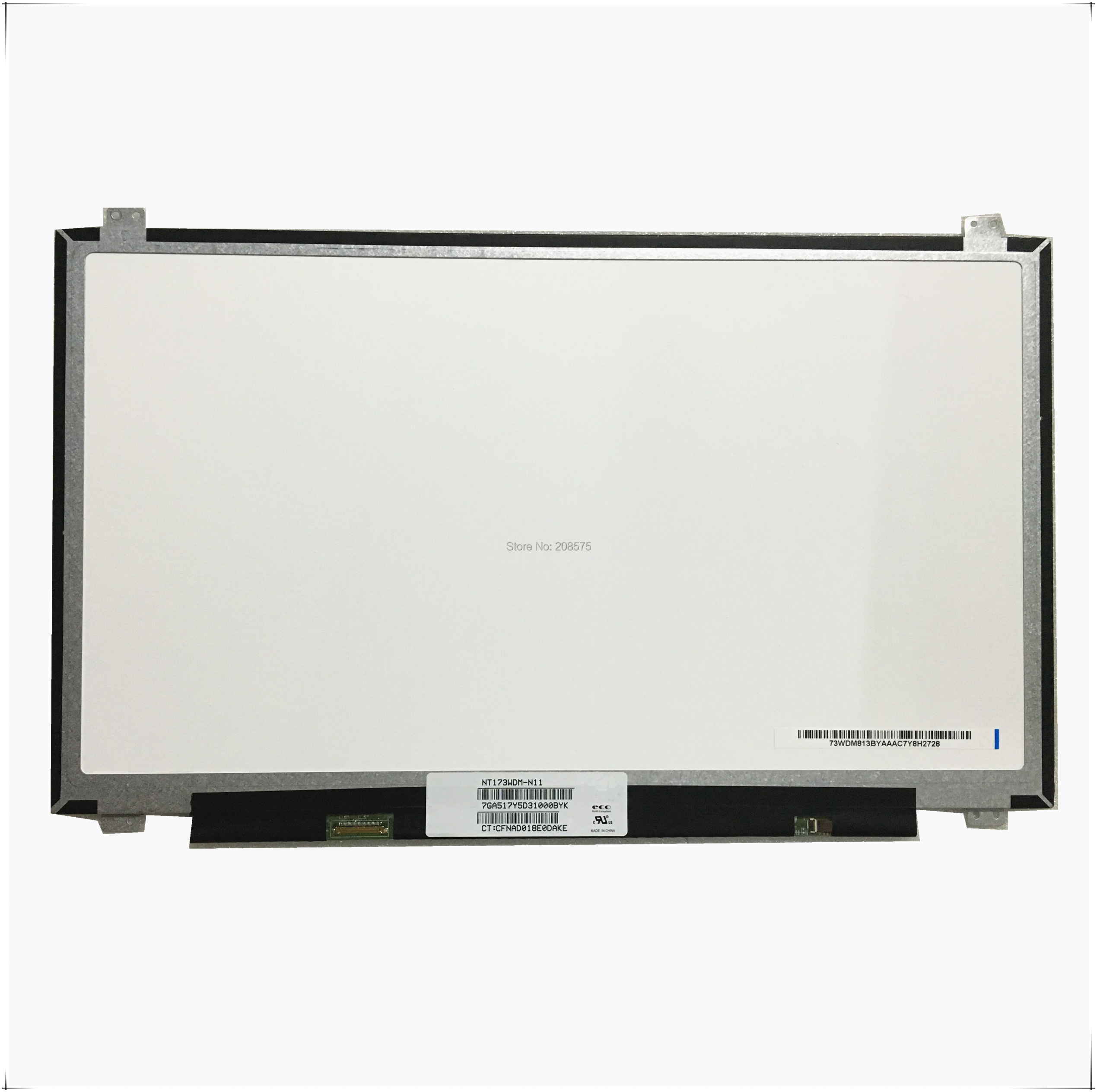 Free Shipping NT173WDM N11 NT173WDM N11 NT173WDM N21 B173RTN02.2 B173RTN02 17.3inch Laptop LCD LED Screen 1600*900 EDP 30pin-in Laptop LCD Screen from Computer & Office on