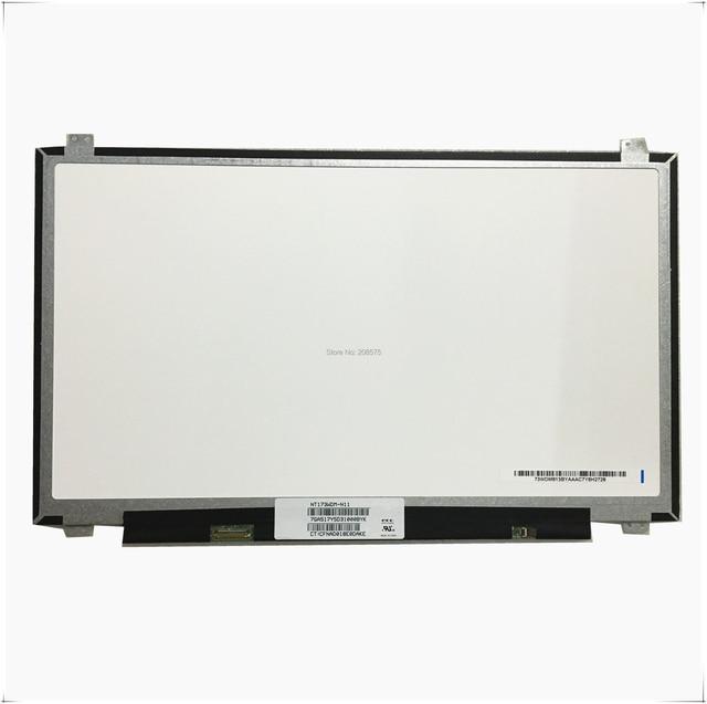Livraison Gratuite NT173WDM N11 NT173WDM N11 NT173WDM N21 B173RTN02.2 B173RTN02 17.3 inch Ordinateur Portable LCD écran LED 1600*900 EDP 30pin