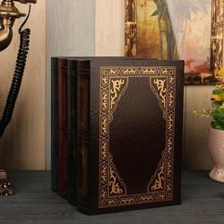 European Style Retro Fake Book Simulation Book Storage Box Elegant Ornament Office Model Photo Prop Home Decoration Accessories