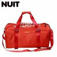 Femme voyage sacs sec et humide sac de séparation grande capacité Portable fourre-tout sacs de mode voyage femmes Designers sac