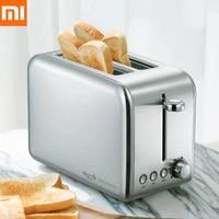 Xiaomi Deerma Electric Bread Toaster Stainless Steel Household Baking Bread Maker Breakfast Machine Kitchen Toast Sandwich Grill