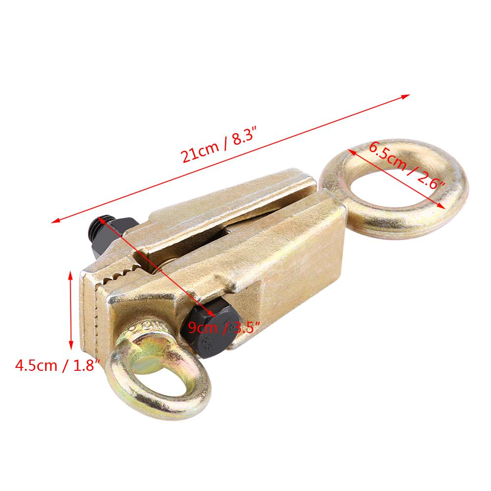 Image 4 - 5 Ton Top & Straight Durable 2 Way Self Tightening Frame Grips Car Auto Body Repair Pull Clamp Pulling Collision Repair Machine-in Sheet Metal Tools Set from Automobiles & Motorcycles