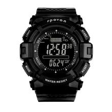 Men Outdoor Fishing Mountaineering Multi-functional Barometer Altimeter Thermometer Smart Fishing Air Pressure Weather Forecast sunroad fishing barometer watch fr720a men altimeter thermometer weather forecast 50m waterproof stopwatch smart watch black