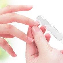 Pro Nano стеклянная маникюрная пилочка для ногтей устройство инструмент долговременный Кристальный стеклянный наклеки для ногтей файлы Высокого качества
