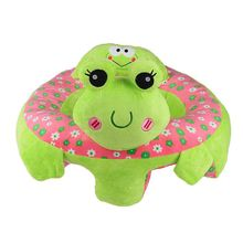 Get more info on the Baby Sitting Chair Baby Seat Learn To Sit Cute Animal Plush Toy- Green frog