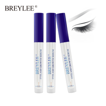 Breylee Eyelash Growth Serum Enhancer Eye Lash Treatment Liquid Longer Fuller Thicker Extension Makeup 3pcs