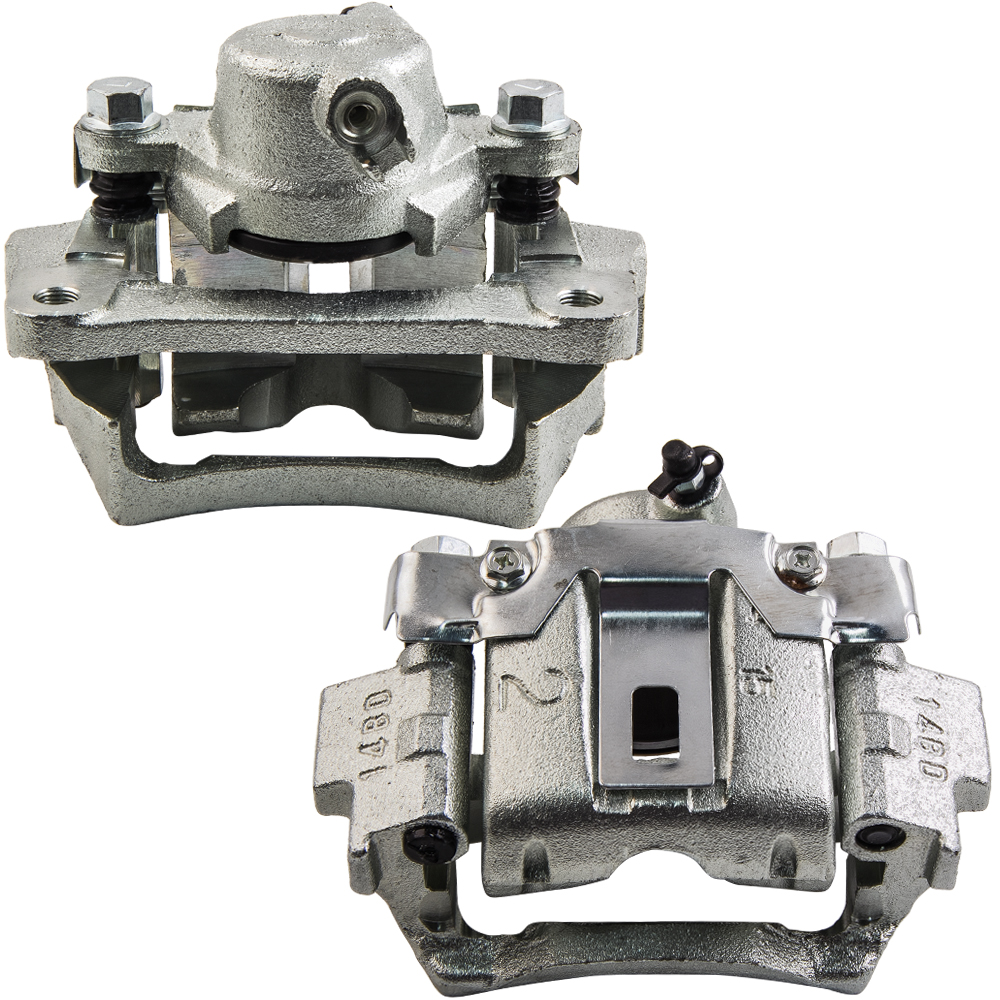 2PCS Rear Brake Calipers for Toyota Landcruiser VDJ76 VDJ78 VDJ79 V8 L /& R Disc