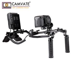 Image 5 - Camvate 15mm braçadeira de haste cheeseplate & power converter tomada c1950