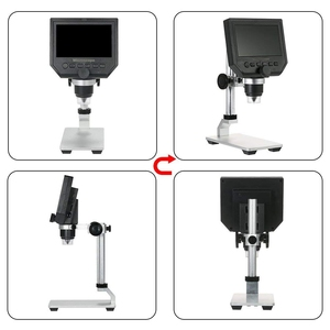 Image 3 - Digital USB Microscope 600X 4.3 LCD Display Electronic Video Magnifier HD 3.6MP CCD Adjustable 8 LEDs1080P/7 UK plug Magnifiers