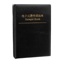 4250 cái/lốc 0805 SMD Chip Mẫu Cuốn Sách Điện Trở 1%-10 M Dung Sai 170 Giá Trị 25 pcs Assortment Kit Mẫu cuốn sách