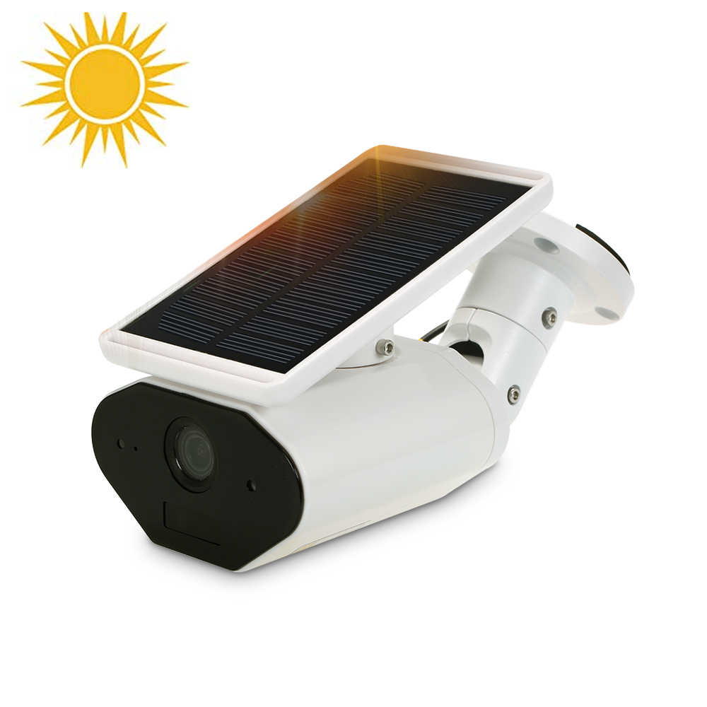 1080P Solar Battery Power Camera Low Power Consumption Surveillance Security Cam Outdoor Waterproof Solar Panel Home Security