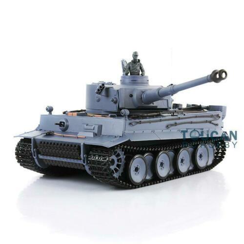 2,4 Ghz Henglong 1/16 escala 6,0 sistema de combate infrarrojo plástico Ver Tigre alemán I RTR RC tanque 3818 modelo TH12437-in Tanques RC from Juguetes y pasatiempos    1