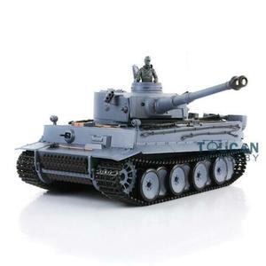 2.4Ghz Henglong 1/16 Scale 6.0 Infrared Combat System Plastic Ver German Tiger I RTR RC Tank 3818 Model TH12437
