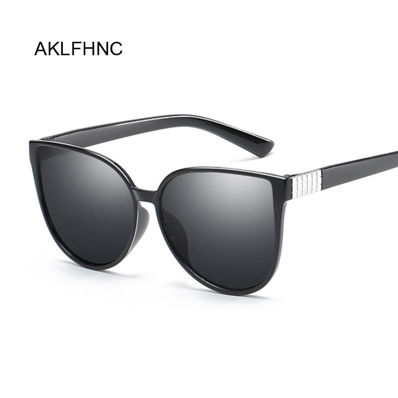 Cat Eye Sunglasses Women Glasses Lady Luxury Retro Metal Sun Glasses Female Vintage Mirror Oculos De Sol Feminino UV400