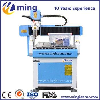 DIY 6090 CNC torno máquina de grabado fresadora 600*900mm piezas 80mm  husillo 2 2KW