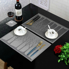 Heat European Style Pvc Table Pad Avoid Wash Environmental Protection Disks And Dishes Western-style Food Padding Double Color