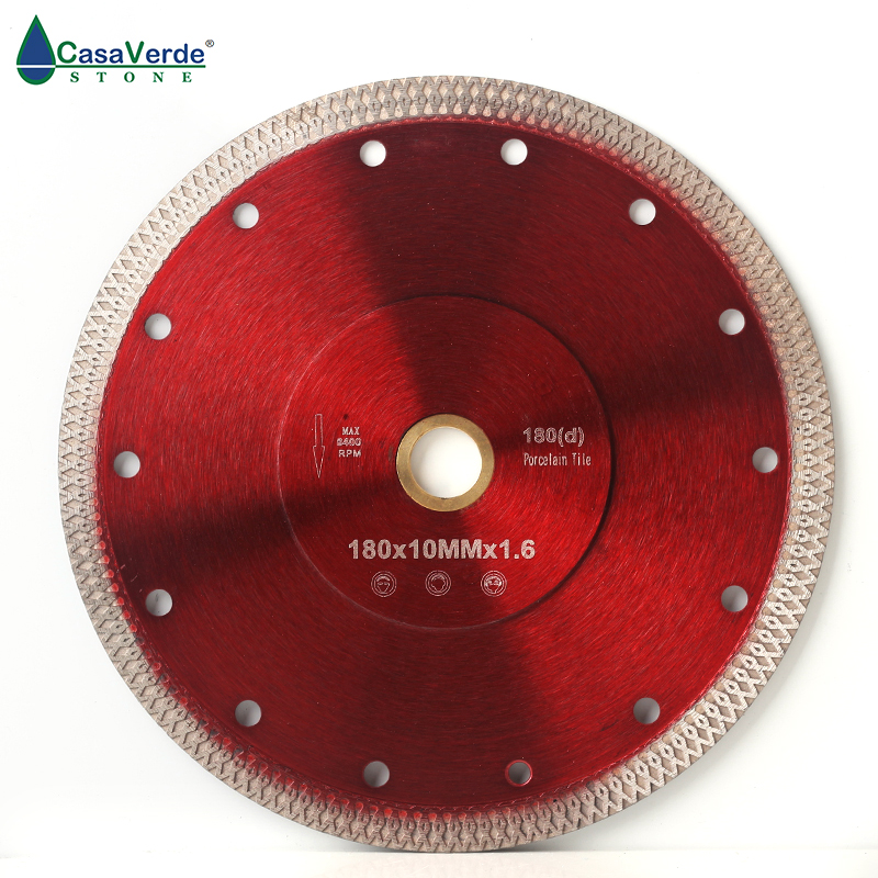 Free Shipping DC-SXSB05 7 Inch Diamond Porcelain Saw Blade 180mm For Ceramic Tile Cutting