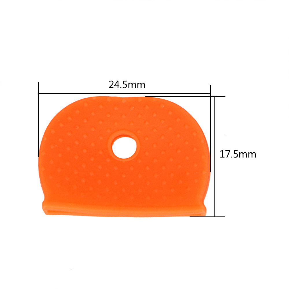 Image 5 - FORAUTO Car Key Protector Cover Key Bag Caps Car Key Case Shell 24/32 Pieces Pack Keyring Rubber Car styling Elasticity-in Key Case for Car from Automobiles & Motorcycles