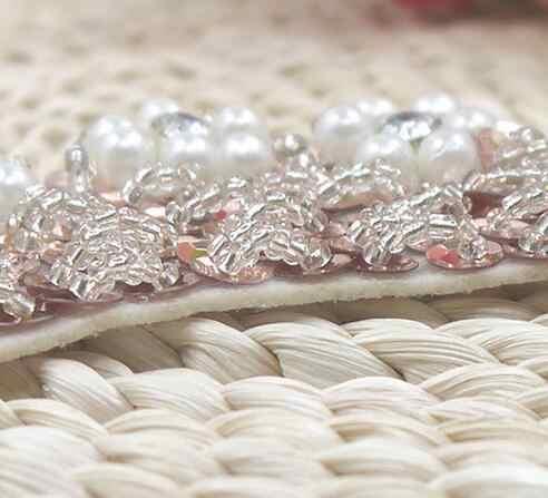 Yeni 5cm pamuk 3D inci dantel yaka kumaş şerit Trim DIY nakış dikiş boyun çizgisi aplike Fringe zanaat elbise gipür dekor