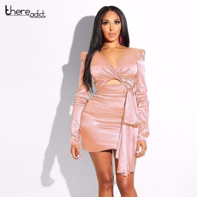 85dd9c0cb € 8.33 44% de DESCUENTO|Thereadict vestido de fiesta de verano de ropa  vestido de las mujeres Bandgae Bodycon Mini vestido Sexy Plus tamaño ...