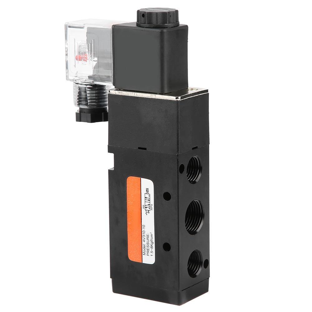 AC220V Electromagnetic Solenoid Valve 2 Position 5 Port Pilot-Operated Solenoid