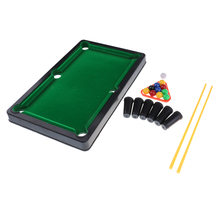 Kinderen Biljart Speelgoed Mini Tafel Top Snooker Game Set Zwembad Desktop Kid Indoor Outdoor(China)