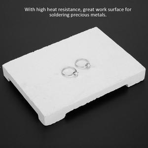 Image 4 - Quarz Brett Hitze Beständig Schmuck Machen Löten Schweißen Block Reparatur Arbeit Oberfläche Schmuck Verarbeitung Werkzeug für Jewelers