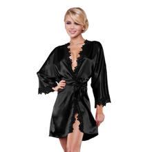 04eedb14baa8 Nightgown for Ladies Lace Satin SleepWear Silk Nighty Sleeping Dress Sleece  Bathrobe Sexy White Red Black blue Sleepshirts