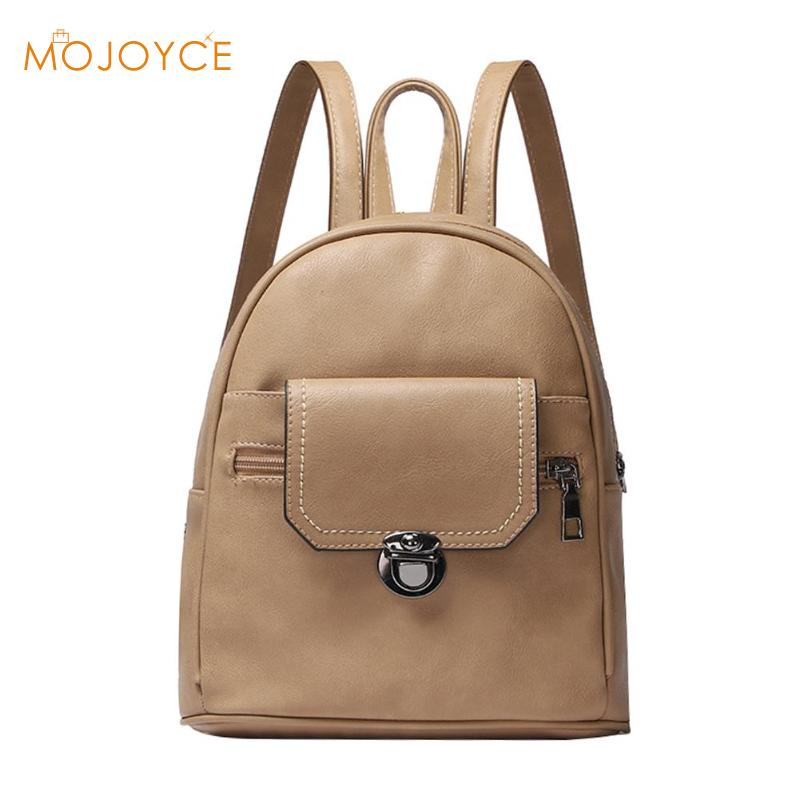 Luxury Women Backpack Bags Black PU Leather Waterproof High Quality Travel Backpack For Young Lady College Style Female BagLuxury Women Backpack Bags Black PU Leather Waterproof High Quality Travel Backpack For Young Lady College Style Female Bag