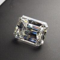 5*7mm Emerald Cut 0.98 carat VVS Moissanite Super White Moissanite Diamond