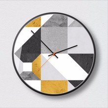 New 3D Wall Clock Quartz Abstract Duvar Saati 30cm 35cm Silent Movement Modern Design Extremely Fashion Watch