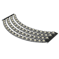 60*5050 RGBW 4500K LED With Integrated Drivers Natural White Ring Need Soldering Module DIY Kit
