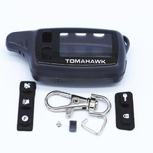 Case Keychain For Russian Two Way Car Alarm TOMAHAWK TW9010 Two Way Car Alarm Remote Controller Accessories Parts Supplies цена и фото