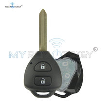 Дистанционный ключ remtekey для toyota auris corolla verso yaris