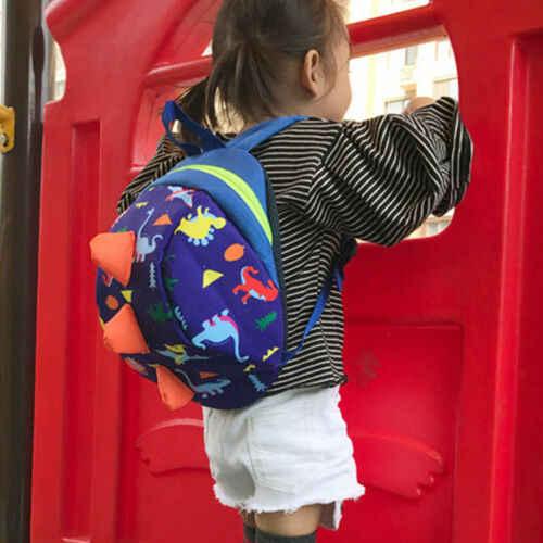 Unisex унисекс Детские ремни безопасности анти-потеря Рюкзак-Акула ремень сумка для прогулок малыша плюшевые рюкзаки динозавры