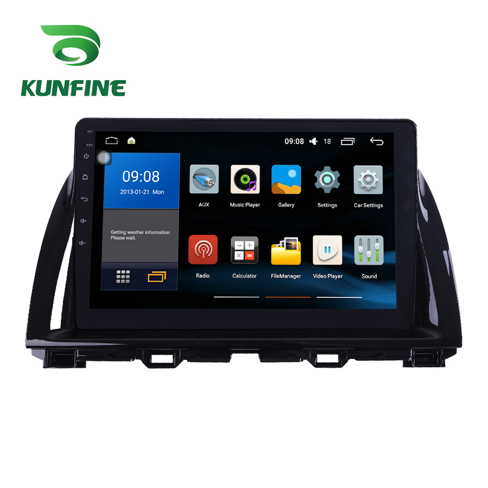 Octa Core 1024*600 Android 8.1 Car DVD <font><b>GPS</b></font> Navigation Player Deckless Car Stereo for <font><b>Mazda</b></font> CX5 2015--2017 Radio image